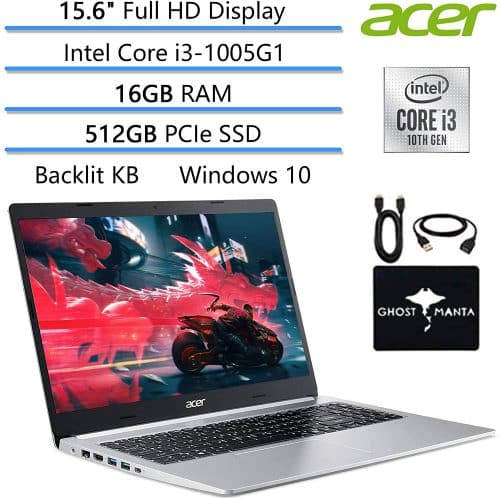 Acer Aspire 5 15.6-A best laptop for machine learning algorithms