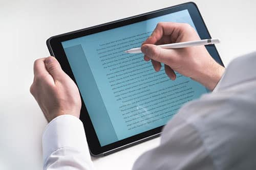 Can I Use a Tablet for Nursing School?