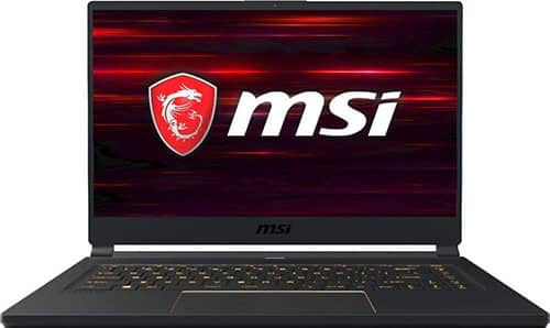 MSI GS 65 STEALTH - BEST LAPTOPS FOR LIVE STREAMING