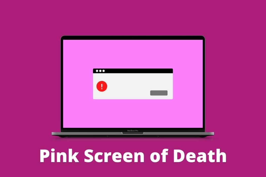 How to fix pink screen on computer