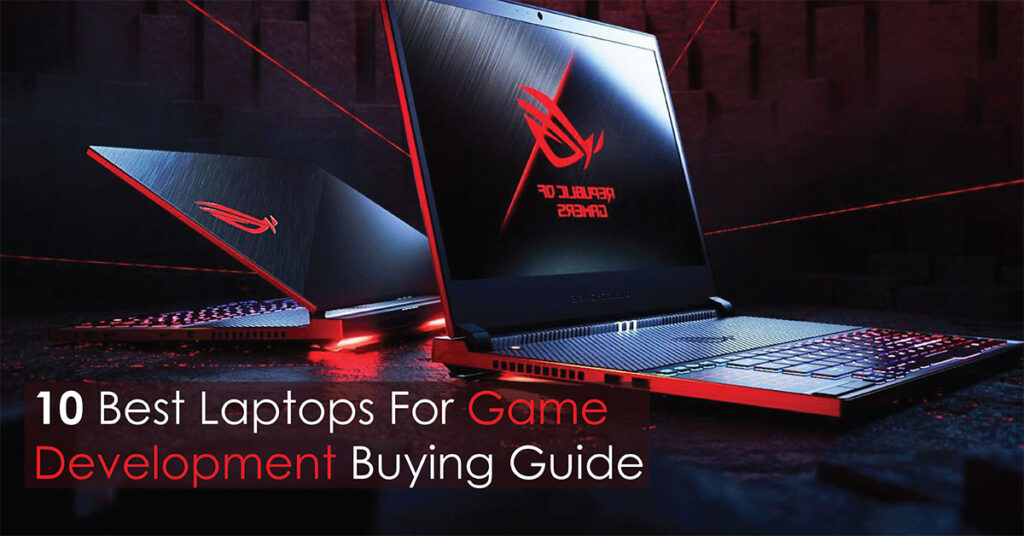 10 best laptops for game development buying code